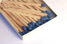 Free Box Of Matches Royalty Free Stock Photography - 140857