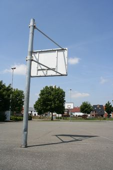 Free Basketball Field Stock Images - 142564