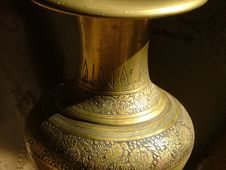 Artistic Vase Stock Photography