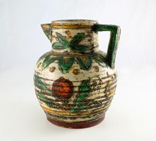 Free Old Decorated Jug Stock Image - 144061