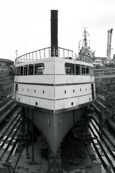 Free Shipyard Restoration Stock Images - 145314