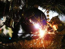 Free Sparklers Royalty Free Stock Image - 145826