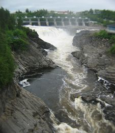 Free Grand Falls New Brunswick Canada Stock Photo - 148950