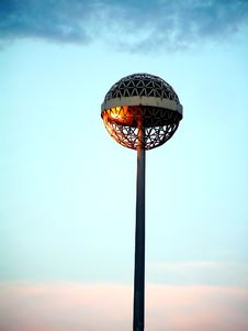 Free Afternoon S Lamp Royalty Free Stock Photography - 149047