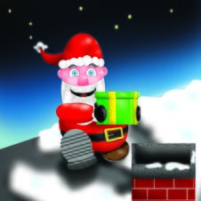 Free Santa Chimney Royalty Free Stock Photos - 149098
