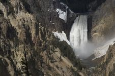 Free Waterfall In Yellowstone Stock Images - 149254
