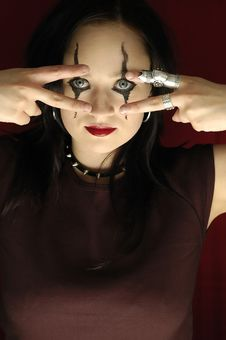 Free Gothic Woman - Serie Stock Photography - 149342