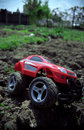 Free Toy Off-road Car Royalty Free Stock Photography - 1409747