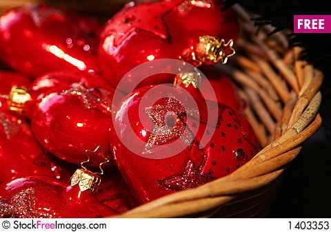 Red christmas Stock Photo