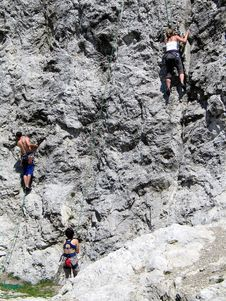 Free Rock-climbers Royalty Free Stock Images - 1400309