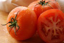 Free Tomatoes. Stock Photos - 1400633