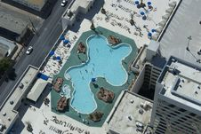Free Rooftop Pool Stock Image - 1400781