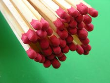 Free Matchsticks Royalty Free Stock Photography - 1401567
