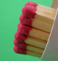 Free Matchsticks In The Case Stock Photography - 1401572