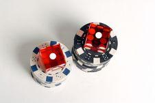 Free Casino Dice Stock Images - 1403224
