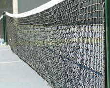 Free Tennis Court Net Stock Photos - 1403933