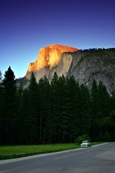 Half Dome, Yosemite National Park Royalty Free Stock Photo