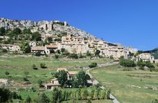 Free Provence Village Stock Photography - 1405382