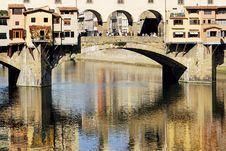 Free Florence - Ponte Vecchio Royalty Free Stock Photography - 1405647