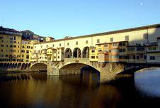 Free Florence - Ponte Vecchio Stock Images - 1405874