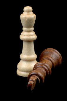 Free Chess Pieces Stock Image - 1406091