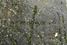 Cross On The Stone Stock Photo