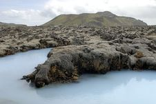 Outside The Blue Lagoon Royalty Free Stock Image