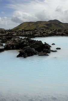 Outside The Blue Lagoon Stock Images
