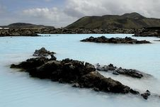 Outside The Blue Lagoon Royalty Free Stock Images