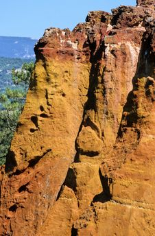 Roussillon Royalty Free Stock Image