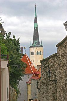 Free Tallinn Alleyway Royalty Free Stock Photos - 1407348