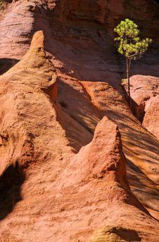 Roussillon Royalty Free Stock Photo