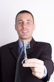 Free Key To Success Stock Photography - 1407512
