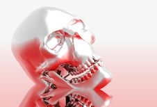 Free Steel Skull Royalty Free Stock Photography - 1409317