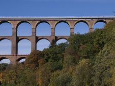 Free Railway Bridge Royalty Free Stock Image - 1409606