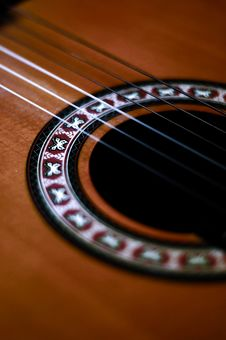 Free Guitar Strings 3 Royalty Free Stock Images - 1409669