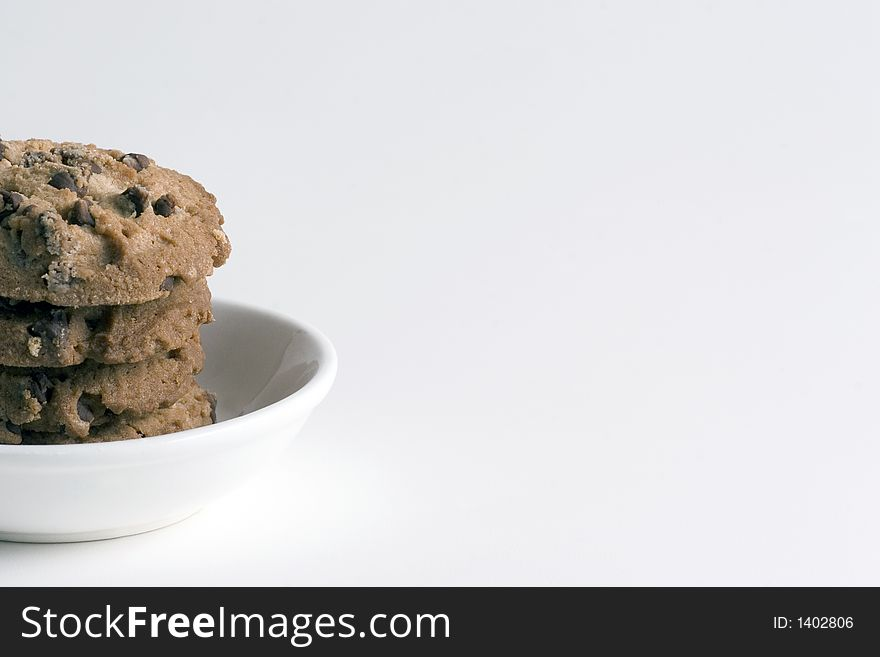 Stack of Chocolate Chips cookies