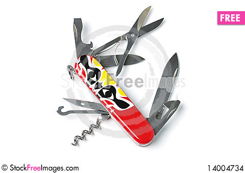 Free Swiss Army Knife Stock Images - 14004734