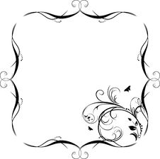 Free Decorative Frame For Design Royalty Free Stock Photography - 14000127