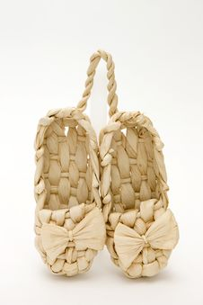 Free Lapty. Old Russian Sandals Stock Images - 14000134