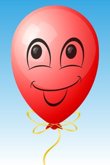 Free Smiling Balloon Stock Photos - 14000273