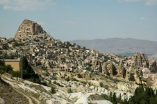 Free Landscape Of Cappadocia, Turkey Stock Images - 14000354