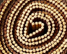 Free Bamboo Texture Circle Stock Images - 14000614