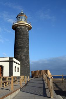 Free Light House On The Shore Of Fuertoventura Stock Photo - 14001660