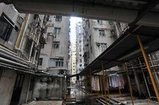 Free Backside Of Hongkong Stock Image - 14001661