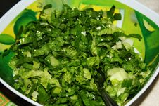 Free The Green Salad Stock Photos - 14002003