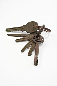Free Rusty Old Keys Stock Image - 14002441