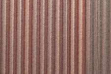 Corrugated Copper Sheet Royalty Free Stock Images
