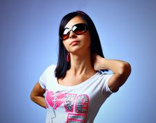 Free Young Woman Posing Royalty Free Stock Image - 14003736