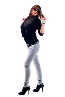 Free Young Woman Posing Stock Images - 14003944